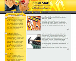 Website Design for Small Stuff Home Improvement